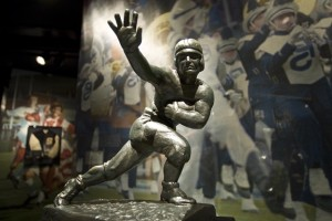 The Heisman Trophy.