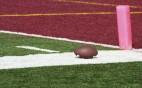 College football at goalline