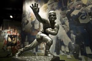 The Heisman Trophy.