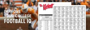 college football newsletter